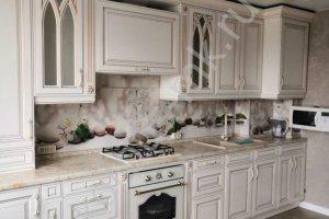Кухня угловая массив Шервуд - Мебельная фабрика «Корпус»