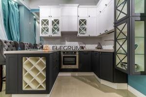 Кухня угловая МДФ Эмаль - Мебельная фабрика «ELEGRUM»
