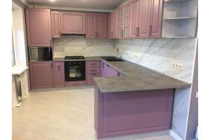 Кухня угловая МДФ Юна - Мебельная фабрика «Люкс-С»