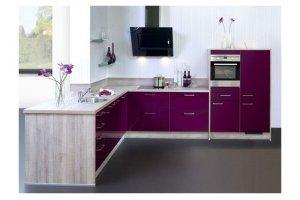 Кухня угловая Melanzane - Мебельная фабрика «Курдяшев-мебель»
