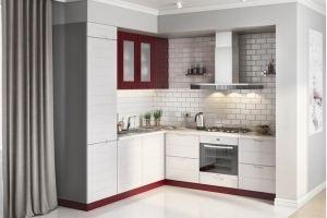 Кухня угловая мини Albina - Мебельная фабрика «AlvaLINE»