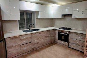 Кухня угловая Модерн фасады AGT - Мебельная фабрика «Люкс-С»