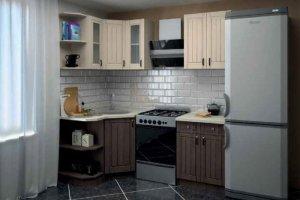 Кухня угловая модульная 2 - Мебельная фабрика «Первомайское»