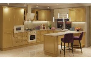 Кухня угловая Молли - Мебельная фабрика «GRETA»