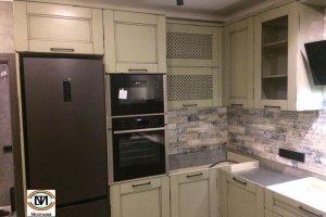 Кухня угловая Монталия 145 - Мебельная фабрика «Монолит»