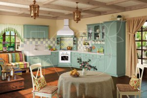 Кухня угловая Оливия  - Мебельная фабрика «Кухонный двор» г. Малаховка