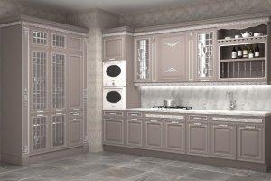 Кухня угловая Палаццо - Мебельная фабрика «Ульяновскмебель (Эвита)»