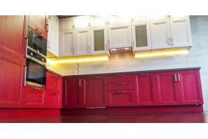 Кухня угловая под потолок - Мебельная фабрика «ЮЛИС»