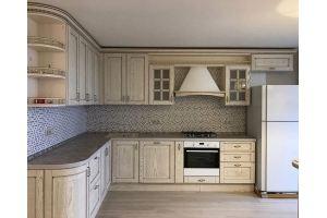Кухня угловая под потолок - Мебельная фабрика «Массив»