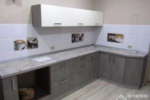 Кухня угловая простая Майя 03 - Мебельная фабрика «ОЛИМП»