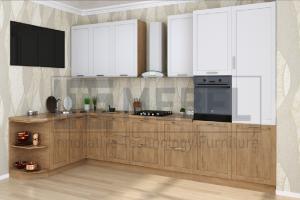 Кухня угловая Provance Proekt 11 - Мебельная фабрика «ITF Mebel»