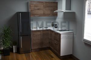 Кухня угловая Provance Proekt 5 - Мебельная фабрика «ITF Mebel»