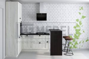 Кухня угловая Provance Proekt 9 - Мебельная фабрика «ITF Mebel»