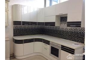 Кухня угловая радиусная Олимпиада - Мебельная фабрика «ОЛИМП»