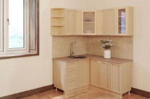 Кухня угловая Рамочная - Мебельная фабрика «БиГ»