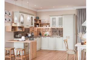 Кухня угловая Рондо рамочный фасад - Мебельная фабрика «Avetti»