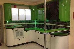 Кухня угловая с барной стойкой - Мебельная фабрика «Мебель +5»