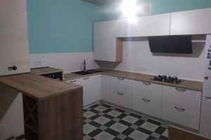 Кухня угловая с барной стойкой - Мебельная фабрика «ДОН-Мебель»