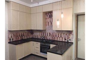 Кухня угловая с фасадом Fein 2 - Мебельная фабрика «Меранти М»