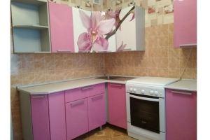 Кухня угловая с фотопечатью - Мебельная фабрика «МИГ»