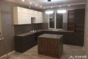 Кухня угловая с островом Артемида 02 - Мебельная фабрика «ОЛИМП»