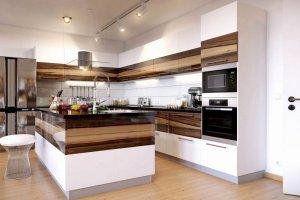 Кухня угловая с островом Лайма - Мебельная фабрика «LEVANTEMEBEL»