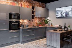 Кухня угловая с островом N-14 - Мебельная фабрика «Ника»
