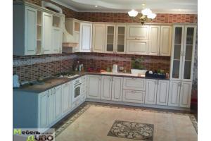 Кухня угловая с патиной - Мебельная фабрика «ДИВО»