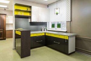 Кухня угловая с полуостровом - Мебельная фабрика «Союз-Мебель»