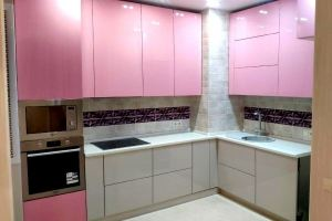 Кухня угловая Сапфир - Мебельная фабрика «Дэрия»