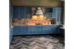 Кухня угловая шпон - Мебельная фабрика «Крона Мебель»
