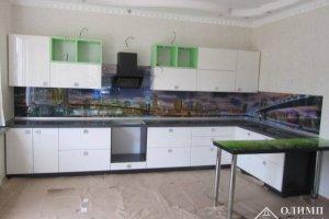Кухня угловая со столешницей Мелания 04 - Мебельная фабрика «ОЛИМП»