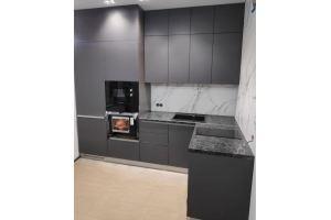 Кухня угловая современная графит - Мебельная фабрика «Алмаз-мебель»