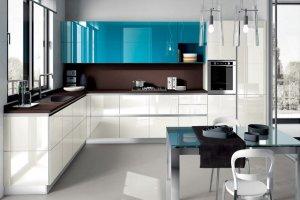 Кухня угловая современная Сабрина - Мебельная фабрика «LEVANTEMEBEL»