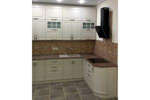 Кухня угловая светлая - Мебельная фабрика «Рестайл»