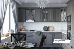 Кухня угловая в пленке Adilet - Мебельная фабрика «МЭК»