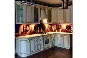 Кухня угловая в стиле Барокко - Мебельная фабрика «Омега»