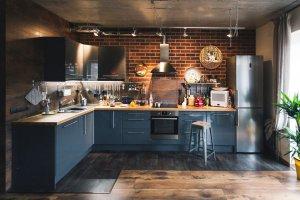 Кухня угловая в стиле Лофт - Мебельная фабрика «Avanto»
