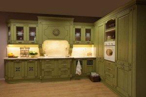 Кухня угловая в стиле Прованс - Мебельная фабрика «Курдяшев-мебель»