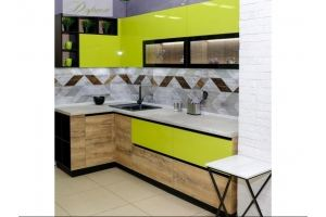 Кухня угловая яркая Лэйла - Мебельная фабрика «Дэрия»