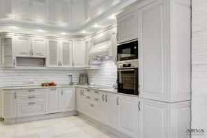 Кухня угловая Ясень Прованс - Мебельная фабрика «ARVA»