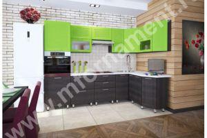 Кухня угловая Люкс с 3D фасадами - Мебельная фабрика «Орнамент»