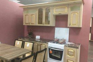 Кухня Уют дуб молочная - Мебельная фабрика «Шанс»