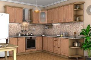 Кухня МДФ угловая Уют - Мебельная фабрика «Д.А.Р. Мебель»