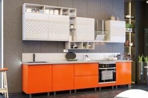 Кухня прямая Узор - Мебельная фабрика «Ренессанс»