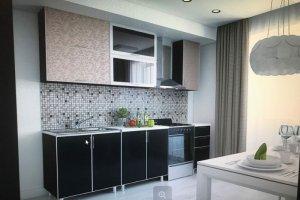 Кухня в алюминиевой рамке Мечта-18 - Мебельная фабрика «ТФМ XXI»