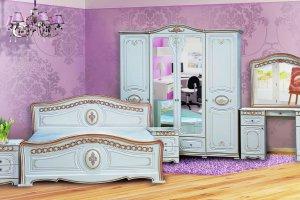 Спальня Азалия Белая Матовая - Мебельная фабрика «Кубань-мебель»