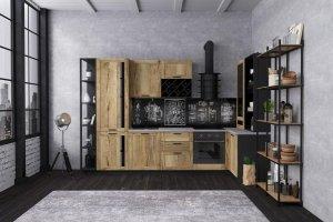 Кухня в лофт стиле Halifax - Мебельная фабрика «Cucina»