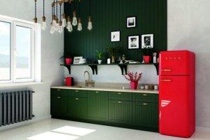 Кухня в ретро стиле Perla - Мебельная фабрика «Евроньюформ»