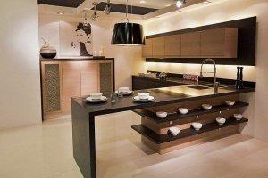 Кухня в шпоне Оксфорд - Мебельная фабрика «MipoLine»